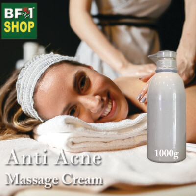 Massage Cream - Anti Acne - 1000g
