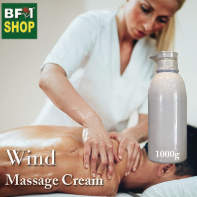 Massage Cream - Wind - 1000g
