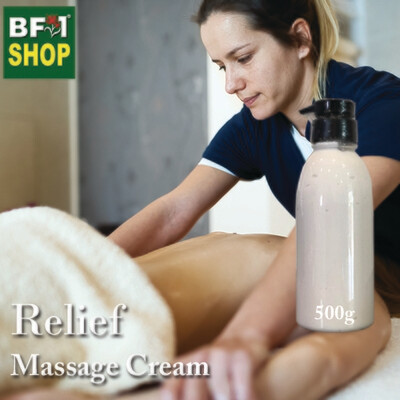 Massage Cream - Relief - 500g