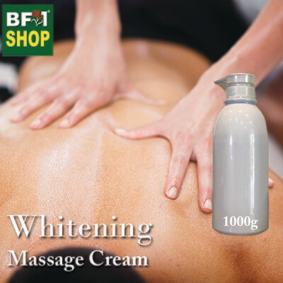 Massage Cream - Whitening - 1000g