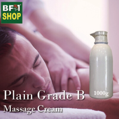Massage Cream - Plain Grade B - 1000g