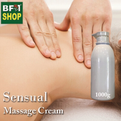 Massage Cream - Sensual - 1000g