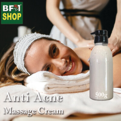 Massage Cream - Anti Acne - 500g