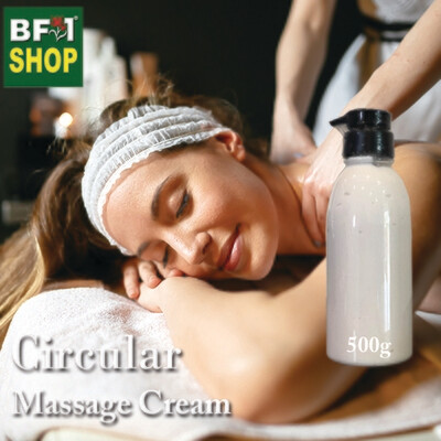 Massage Cream - Circular - 500g