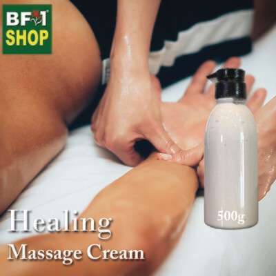 Massage Cream - Healing - 500g