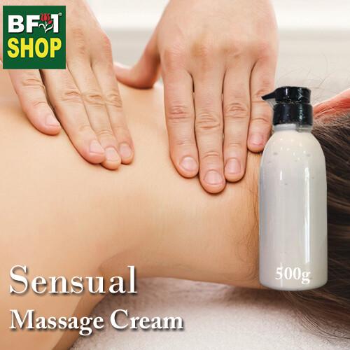 Massage Cream - Sensual - 500g