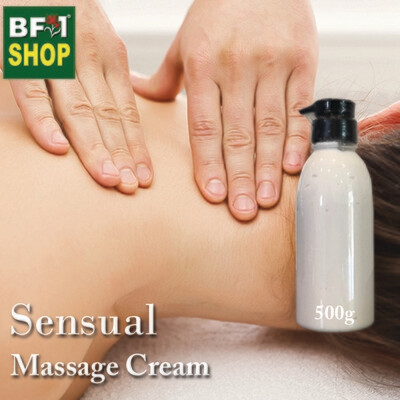 Massage Cream - Sensual - 500g