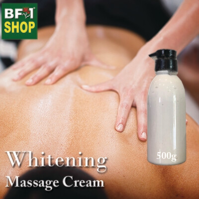 Massage Cream - Whitening - 500g