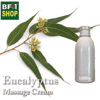 Massage Cream - Eucalyptus - 1000g