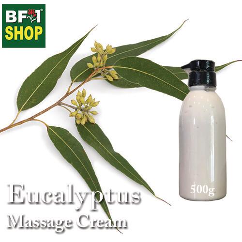 Massage Cream - Eucalyptus - 500g