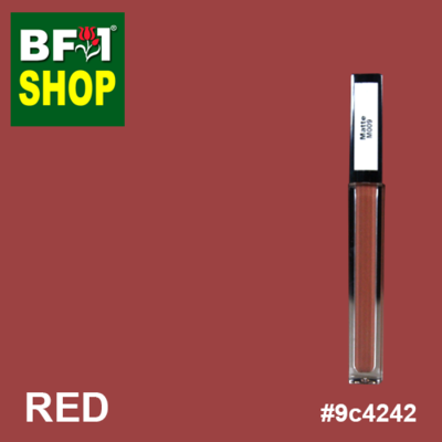 Shining Lip Matte Color - Red #9c4242 - 5g