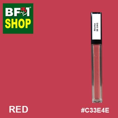 Shining Lip Matte Color - Red #C33E4E - 5g