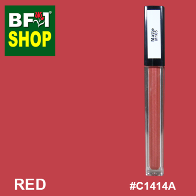Shining Lip Matte Color - Red # C1414A - 5g