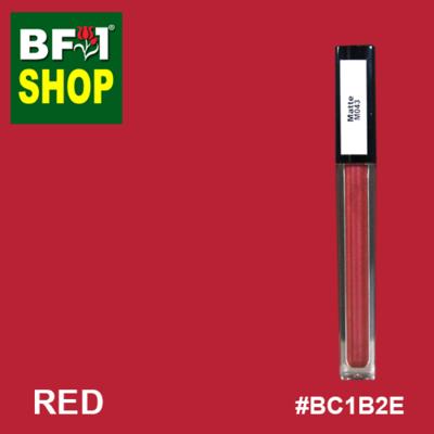 Shining Lip Matte Color - Red #BC1B2E - 5g