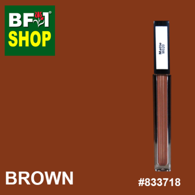 Shining Lip Matte Color - Brown #833718 - 5g