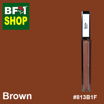 Shining Lip Matte Color - Brown #813B1F - 5g