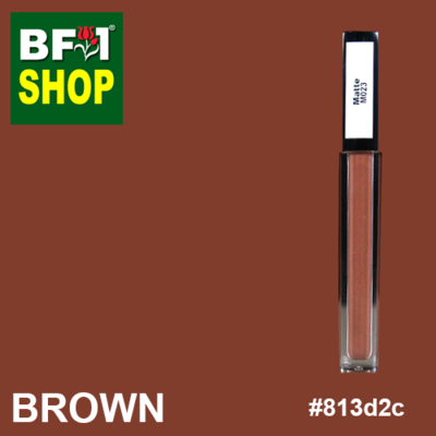 Shining Lip Matte Color - Brown #813d2c - 5g