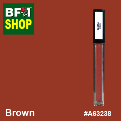 Shining Lip Matte Color - Brown #A63238 - 5g