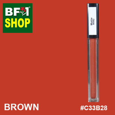 Shining Lip Matte Color - Brown #C33B28 - 5g
