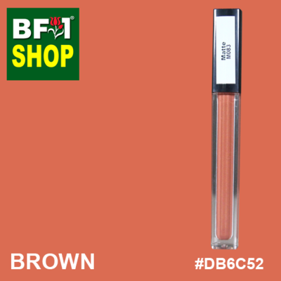 Shining Lip Matte Color - Brown #DB6C52 - 5g