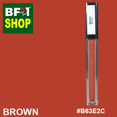 Shining Lip Matte Color - Brown #B63E2C - 5g