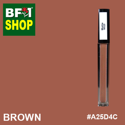 Shining Lip Matte Color - Brown #A25D4C - 5g