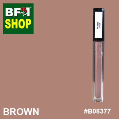 Shining Lip Matte Color - Brown #B08377 - 5g