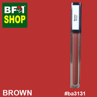 Shining Lip Matte Color - Brown #BA3131 - 5g