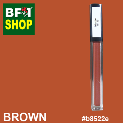 Shining Lip Matte Color - Brown #B8522E - 5g