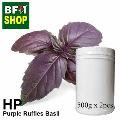 Herbal Powder - Basil - Purple Ruffles Basil Herbal Powder - 1kg