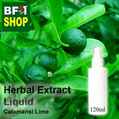 Herbal Extract Liquid - Calamansi Lime Herbal Water - 120ml