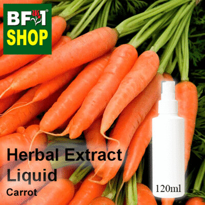Herbal Extract Liquid - Carrot Herbal Water - 120ml