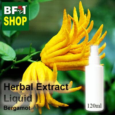 Herbal Extract Liquid - Bergamot Herbal Water - 120ml