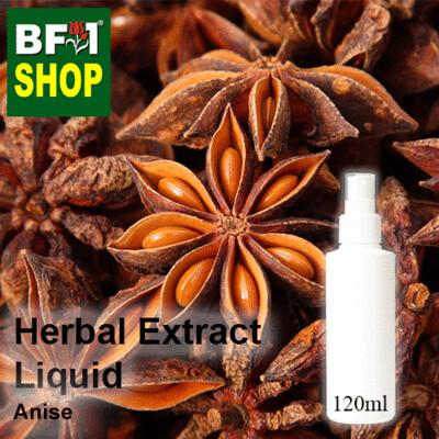 Herbal Extract Liquid - Anise Herbal Water - 120ml