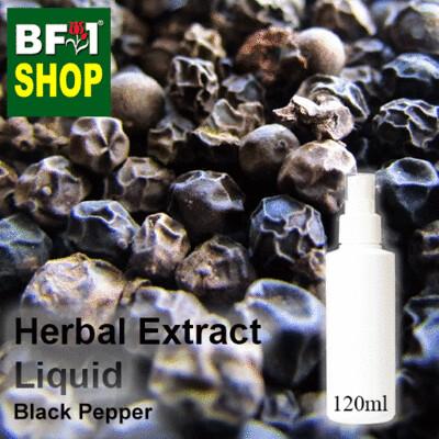 Herbal Extract Liquid - Black Pepper Herbal Water - 120ml