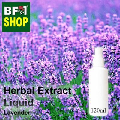 Herbal Extract Liquid - Lavender Herbal Water - 120ml