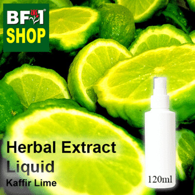 Herbal Extract Liquid - Kaffir Lime Herbal Water - 120ml