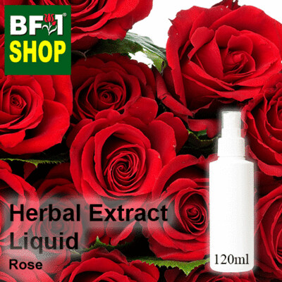 Herbal Extract Liquid - Rose Herbal Water - 120ml