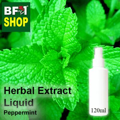 Herbal Extract Liquid - Peppermint Herbal Water - 120ml