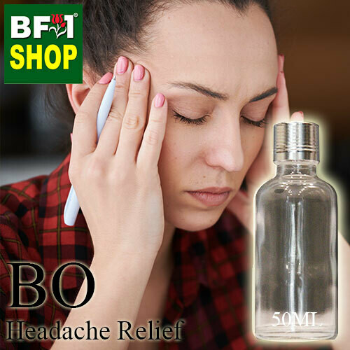 Blended Essential Oil (BO) - Headache Relief Essential Oil - 50ml