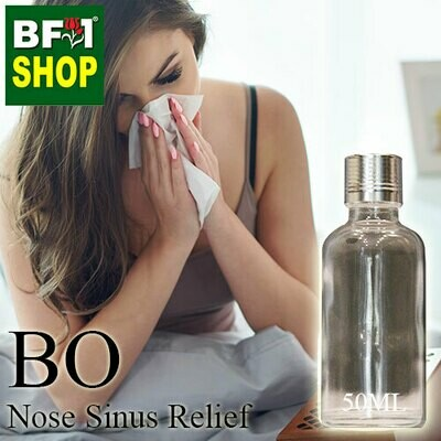 Blended Essential Oil (BO) - Nose Sinus Relief Essential Oil - 50ml