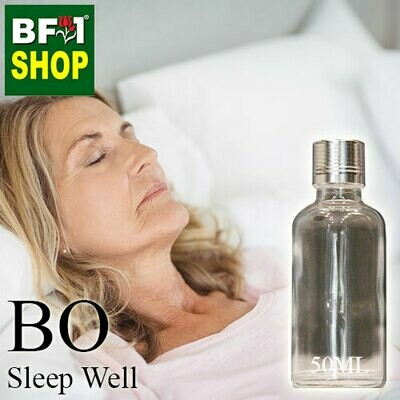 Blended Essential Oil (BO) - Sleep Well Essential Oil - 50ml