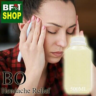 Blended Essential Oil (BO) - Headache Relief Essential Oil - 500ml