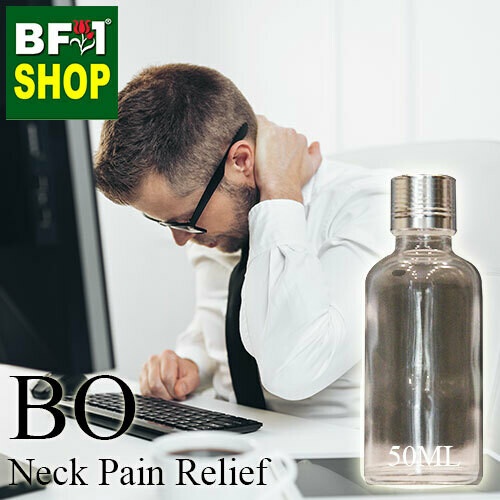Blended Essential Oil (BO) - Neck Pain Relief Essential Oil - 50ml