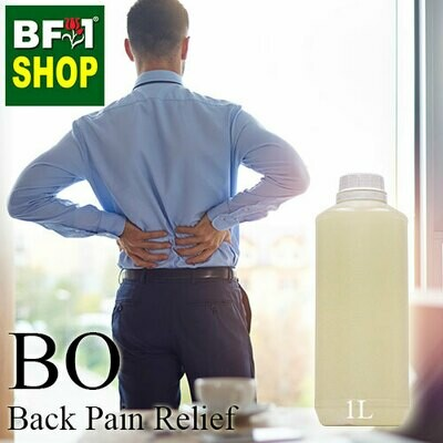 Blended Essential Oil (BO) - Back Pain Relief Essential Oil - 1L