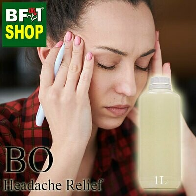 Blended Essential Oil (BO) - Headache Relief Essential Oil - 1L