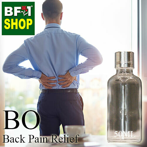 Blended Essential Oil (BO) - Back Pain Relief Essential Oil - 50ml