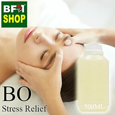Blended Essential Oil (BO) - Stress Relief Essential Oil - 500ml