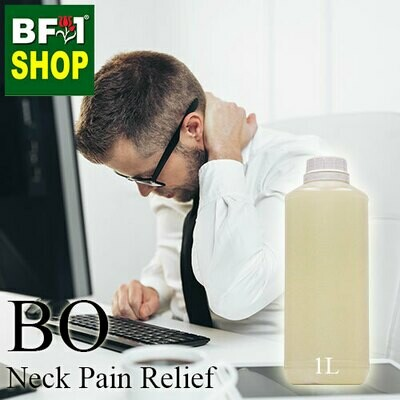 Blended Essential Oil (BO) - Neck Pain Relief Essential Oil - 1L