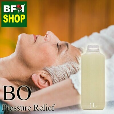 Blended Essential Oil (BO) - Pressure Relief Essential Oil - 1L